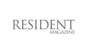 Resident Magazine logo